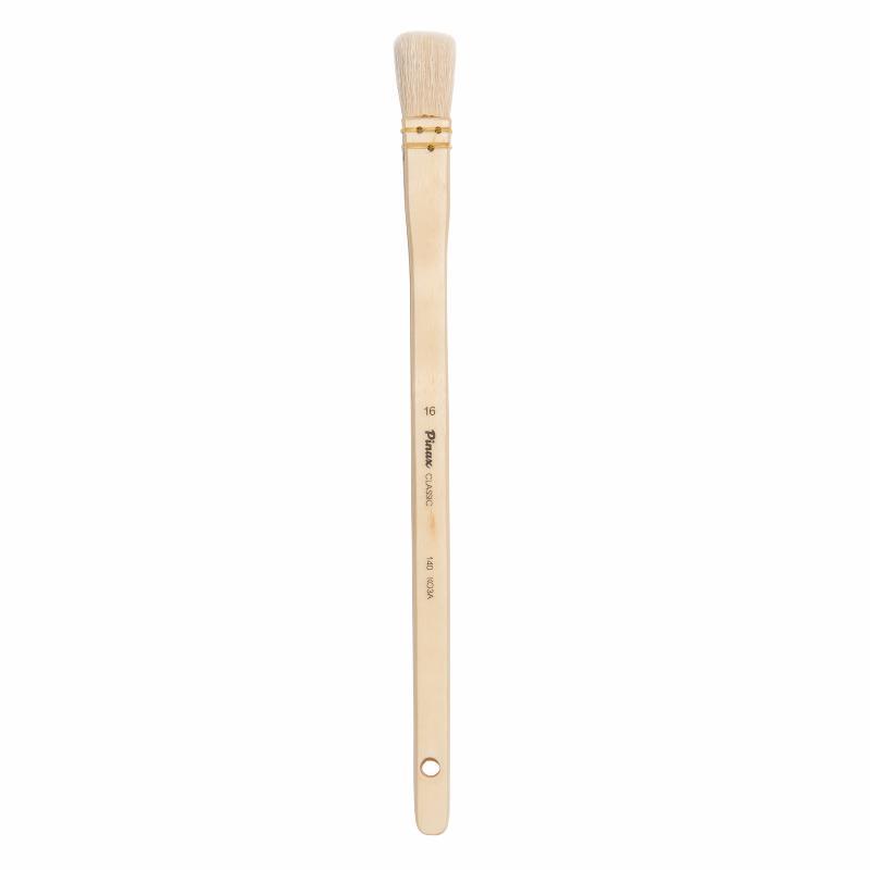 Купить Кисть коза №16 флейц Pinax Classic 140 длинная ручка, Китай