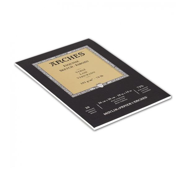 Купить Альбом-склейка для графики Canson Arches Esquisse 26x36 см 20 л 105 г, Франция