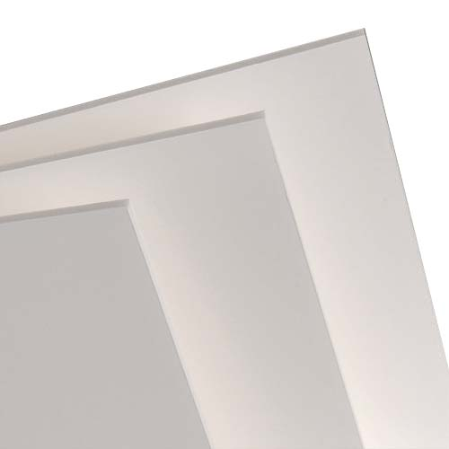 Купить Пенокартон белый 50х70 см 3 мм, Decoriton, Россия