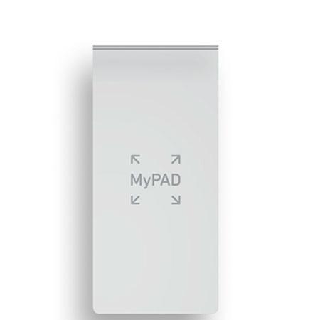 Купить Блокнот в линейку Fabriano MyPad 12, 2х5, 7 см 48 л 85 г, обложка белая, Италия