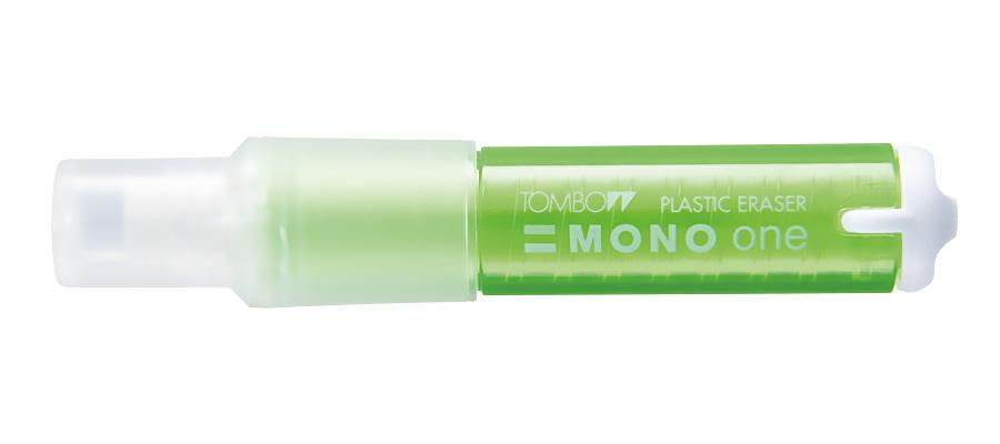 Купить Ластик-карандаш Tombow Mono one корпус прозрачный, зеленый, Япония