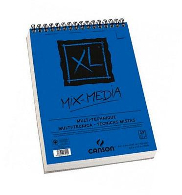 Купить Альбом для различных техник на спирали Canson XL Mix Media 29, 7х42 см 30 л 300 г, Франция
