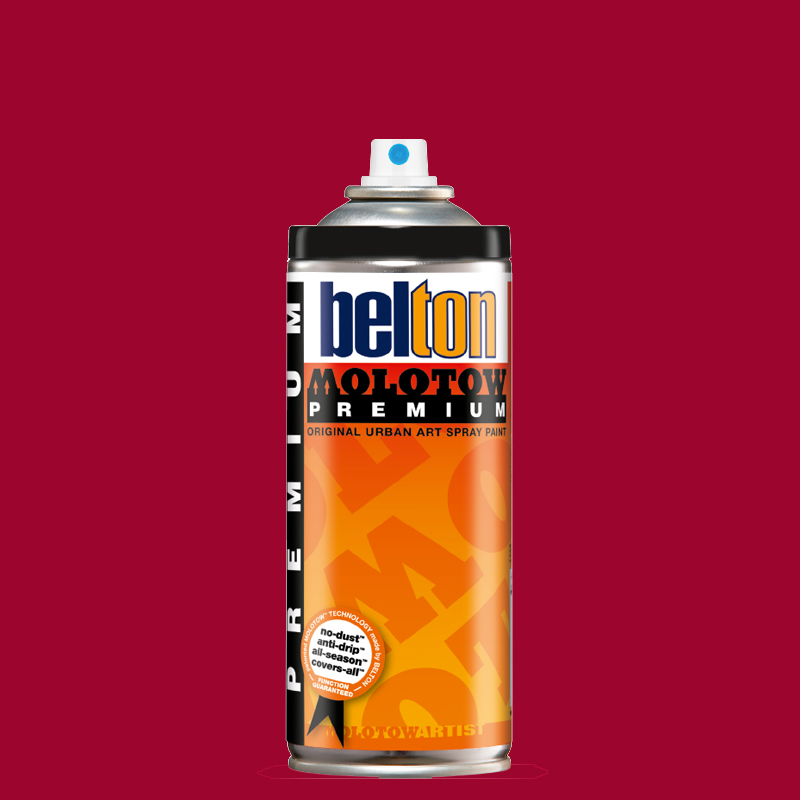 Купить Аэрозольная краска Molotow Premium belton 400 мл #044 sangria, Германия