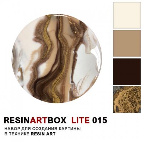 Купить Набор для создания картины из эпоксидной смолы ResinArtBox LITE 015 , Франция