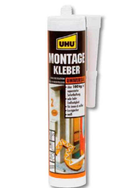 Купить Клей универсальный для монтаж работ UHU Montage 200 г, Германия