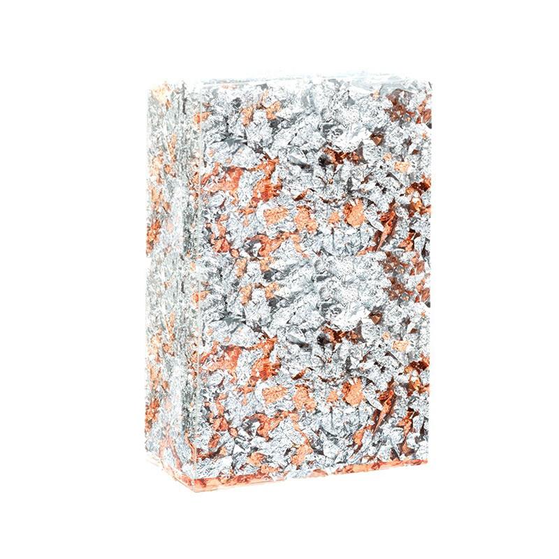 Купить Крошка металлическая двухцветная Esprimo №3 Серебро и Медь, Италия