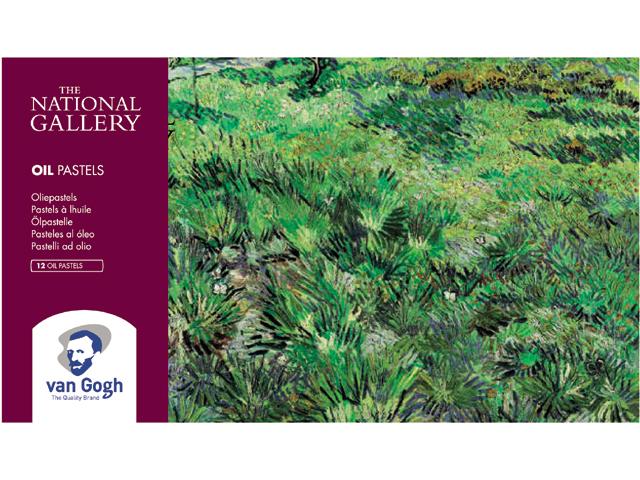 Набор масляной пастели Talens Van Gogh National Gallery 12 цв, Royal Talens  - купить со скидкой