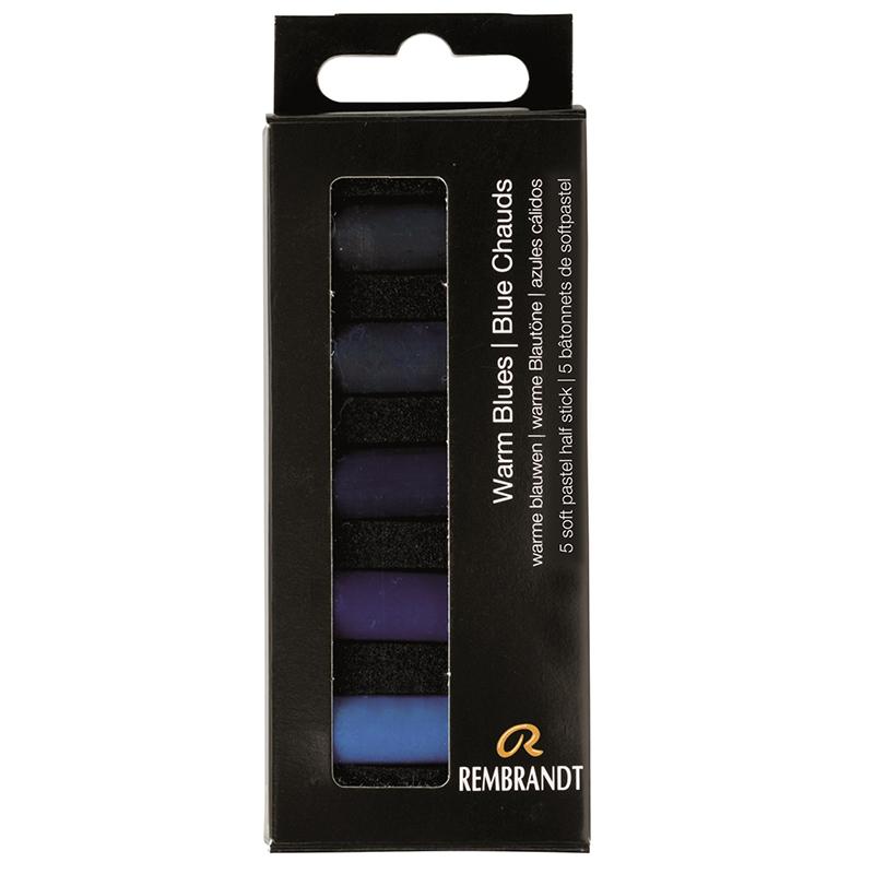 Купить Набор сухой пастели Talens Rembrandt Теплый голубой 5 цв, в картонной коробке, Royal Talens