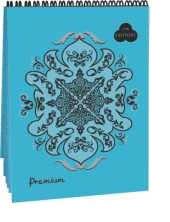 Купить Блокнот для пастели Лилия Холдинг Premium А4 30 л на пружине (облачное небо) Cloudy sky , Россия
