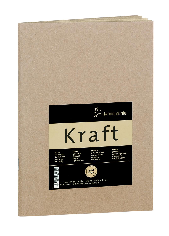 Купить Блокнот для набросков Hahnemuhle Kraft А5 20 л 120 г, HAHNEMUHLE FINEART, Германия