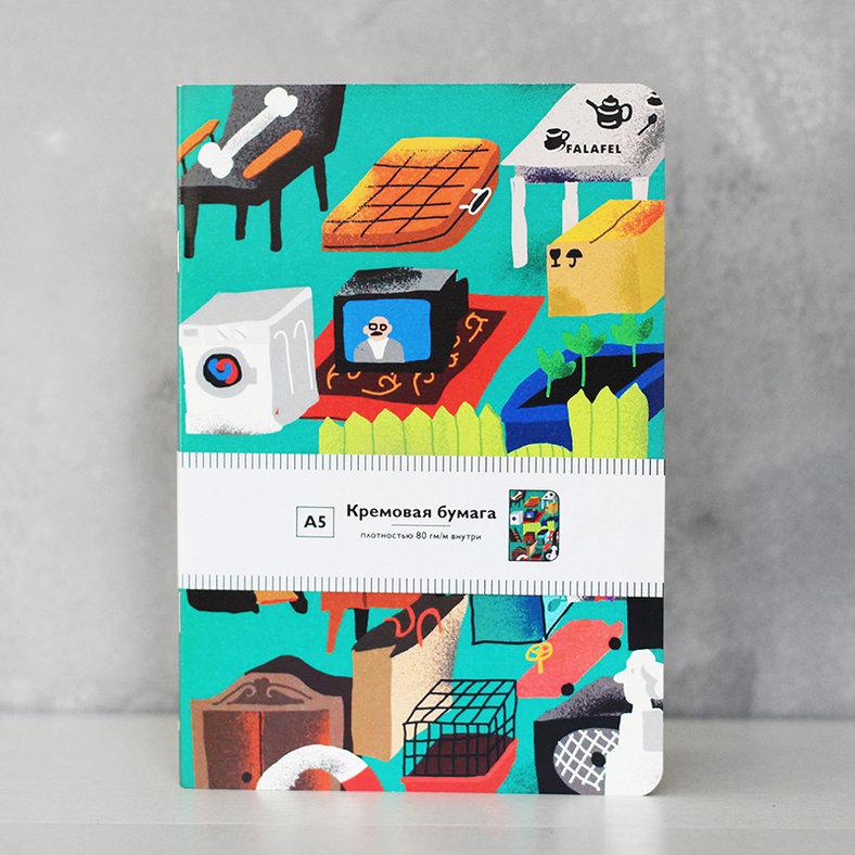 Купить Блокнот FALAFEL BOOKS А5 Tvshop, Россия