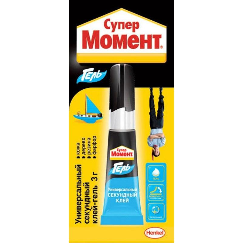Клей МОМЕНТ Супер Гель 3г