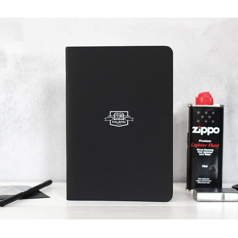 Купить Блокнот FALAFEL BOOKS А5L Black, Россия