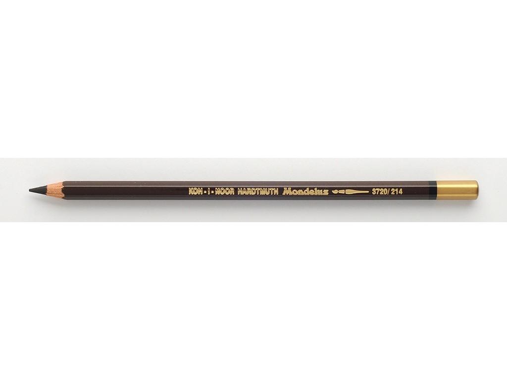 Купить Карандаш акварельный Koh-i-noor Mondeluz Земля коричневый тёмный, Чехия