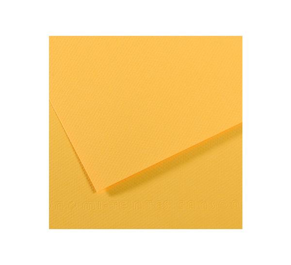Купить Бумага для пастели Canson MI-TEINTES 75x110 см 160 г №400 канареечный, Франция
