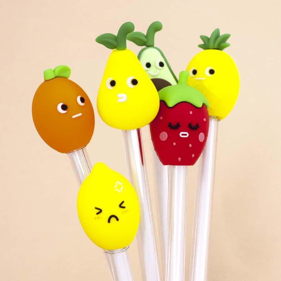 Купить Ручка Love Fruit , mix, iLikeGift, Китай