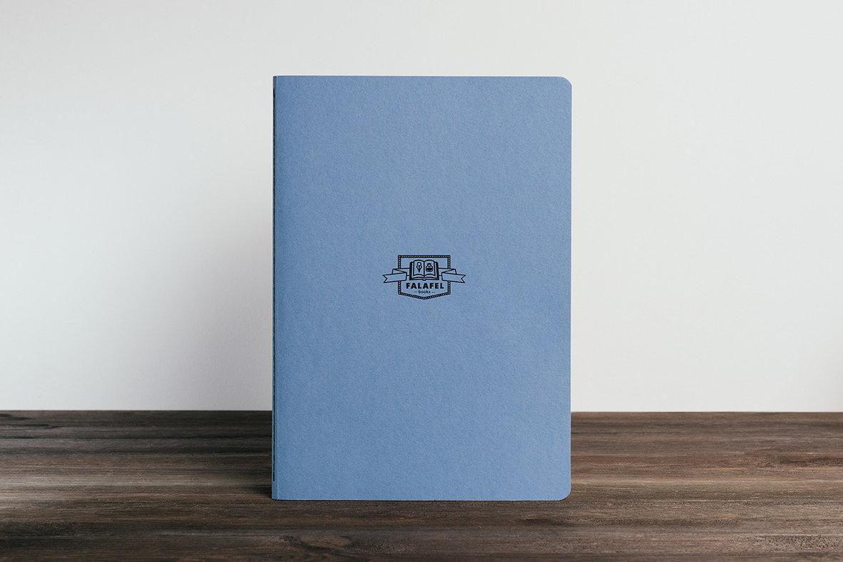 Блокнот FALAFEL BOOKS А4 Moonstone blue фото