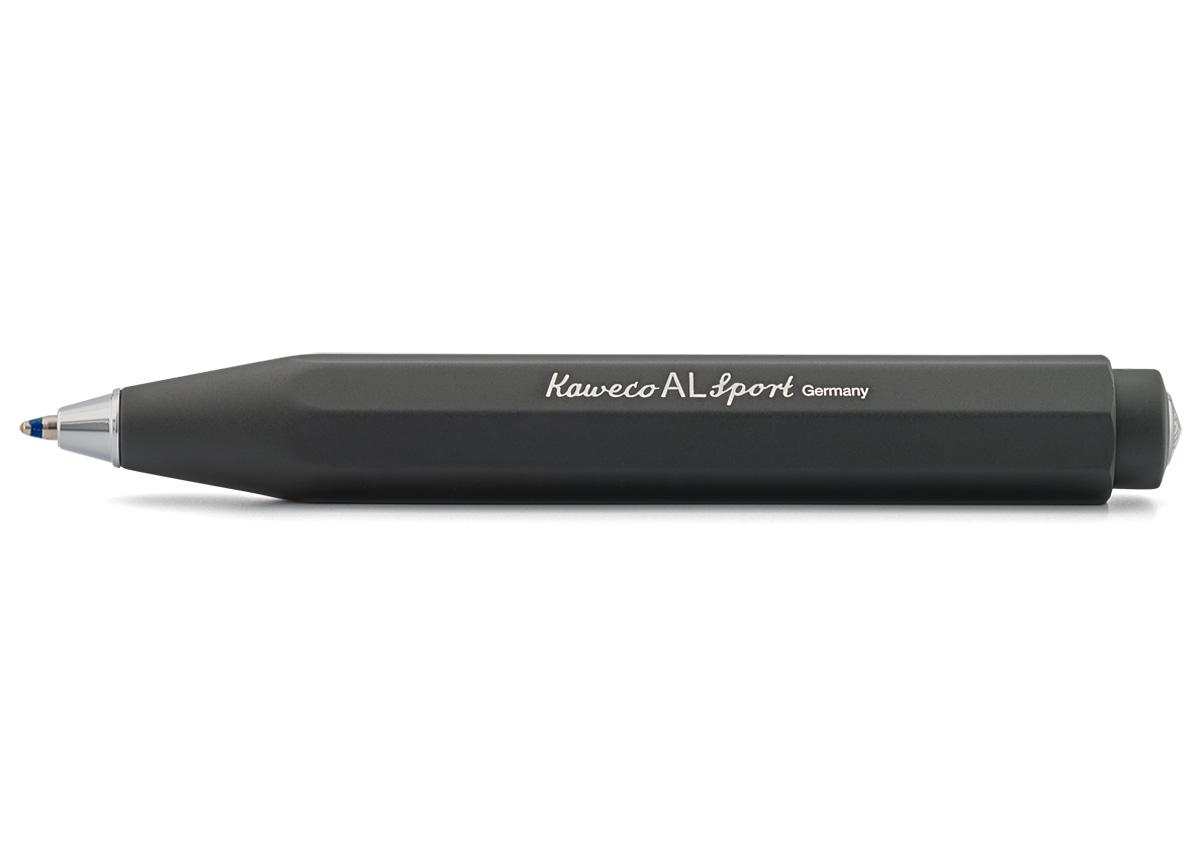Купить Ручка шариковая Kaweco AL Sport 1, 0 мм, корпус черный, Германия