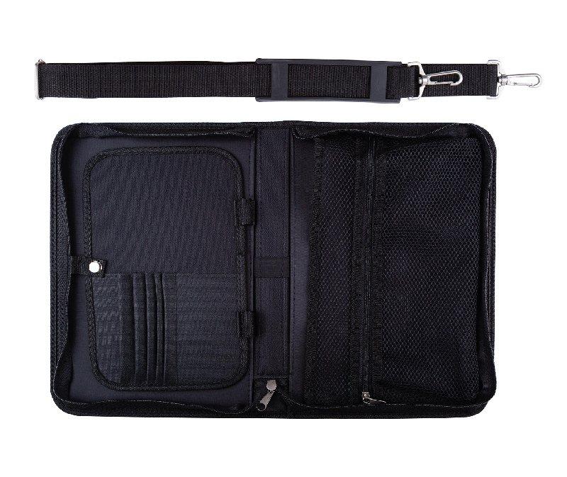 Купить Пенал для пленэра Сонет АКРИЛ, с ремнём, 34 х 23, 5 х 4 см, чёрный, Россия