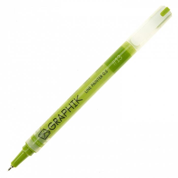 Купить Линер Derwent LINE PAINTER 0, 5 мм Травяной зелёный