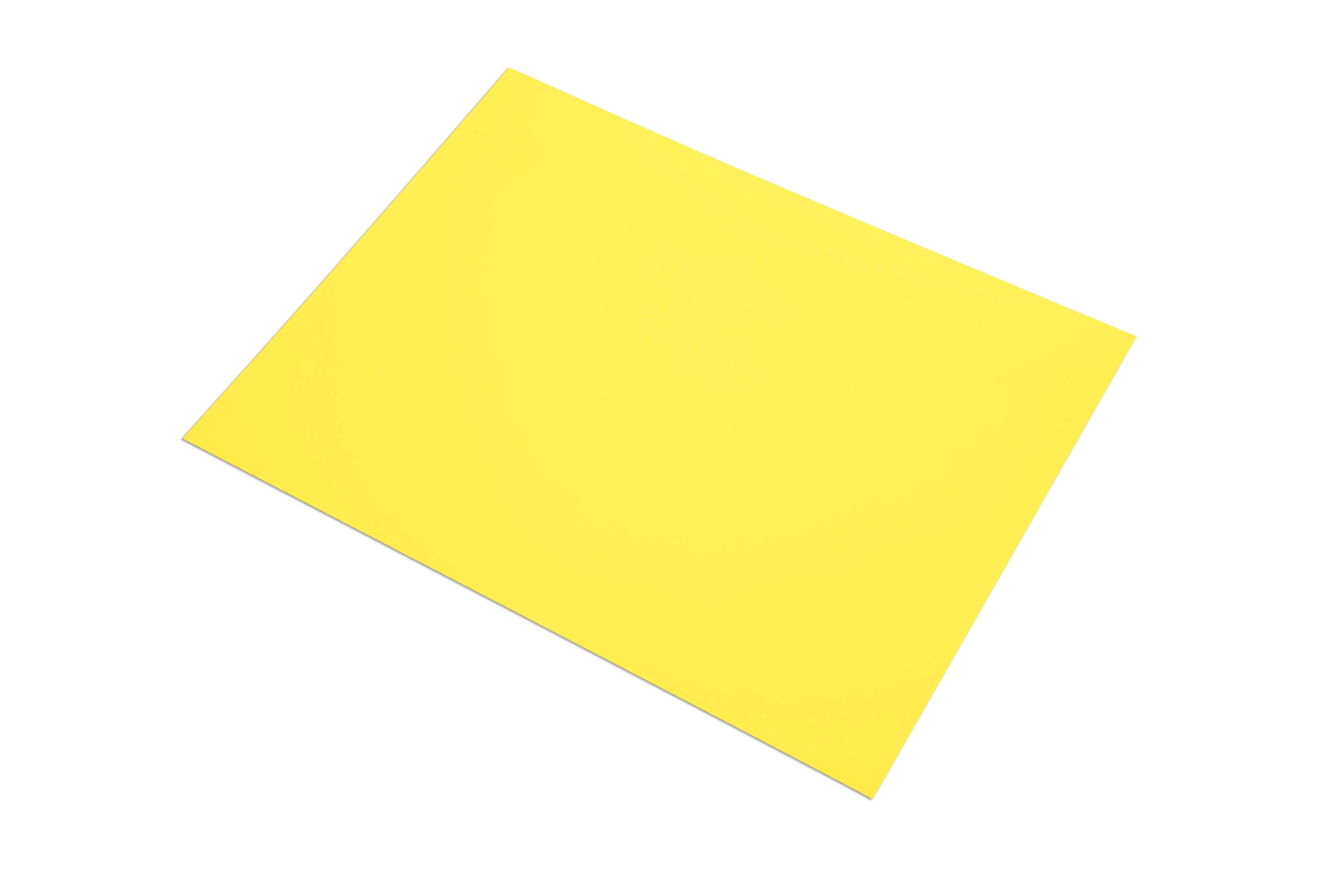 Купить Бумага цветная Sadipal Sirio А4 240 г Желтый канареечный, Испания