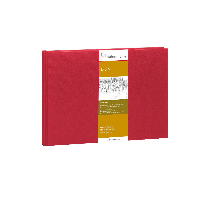 Купить Блокнот для эскизов Hahnemuhle D&S А5 80 л 140 г, твердая обложка, HAHNEMUHLE FINEART, Германия