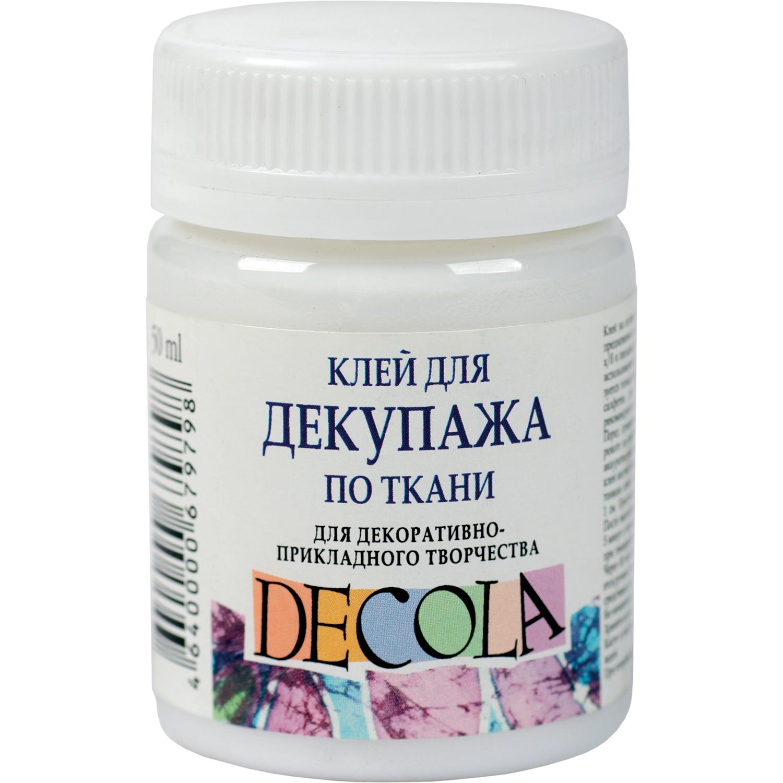 """Клей для декупажа """"Decola"""" 50 мл по ткани"""