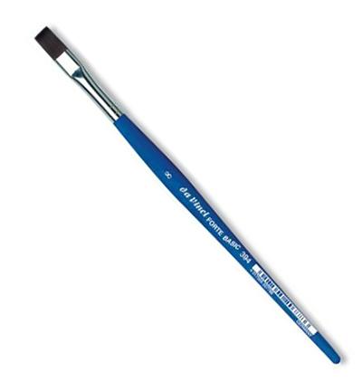 Купить Кисть синтетика №8 плоская Da Vinci 394 короткая ручка, Германия