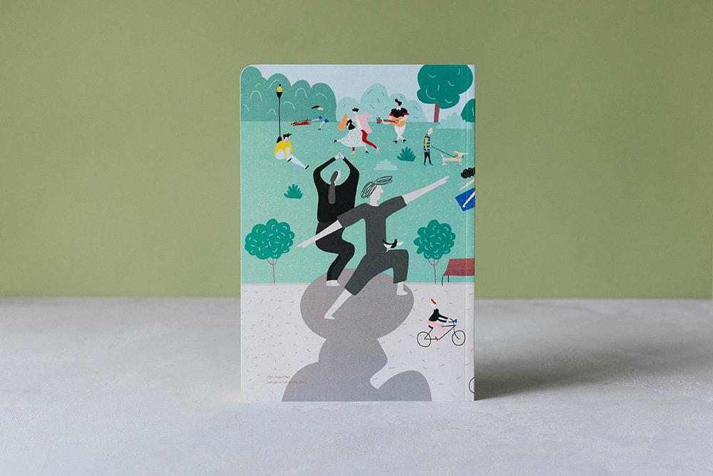 Купить Блокнот FALAFEL BOOKS А5 Holiday, Россия