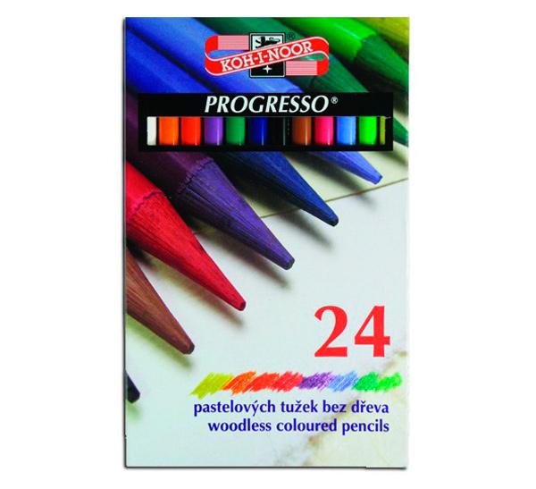 Купить Набор карандашей цветных Koh-I-Noor Progresso 24 шт в картоне, KOH–I–NOOR, Чехия
