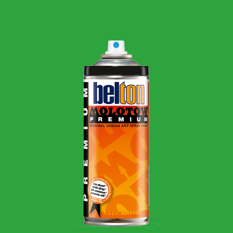 Купить Аэрозольная краска Molotow Premium belton 400 мл #158 clover green, Германия