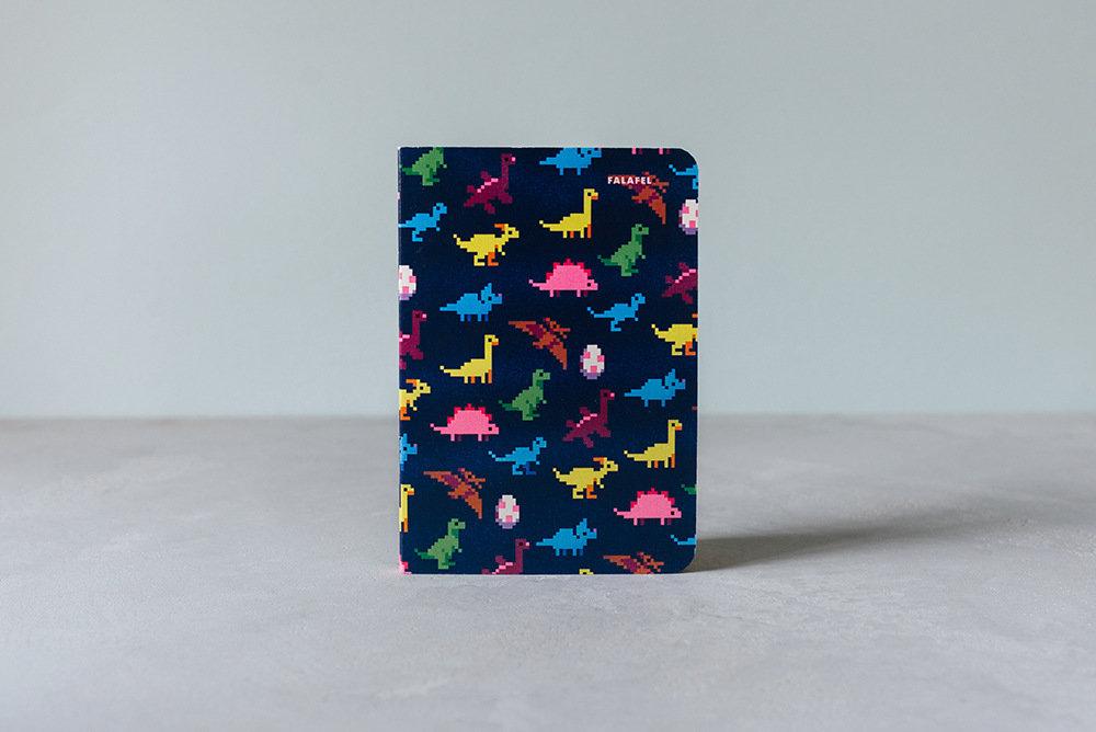 Купить Блокнот FALAFEL BOOKS А6 Dinosaurs, Россия