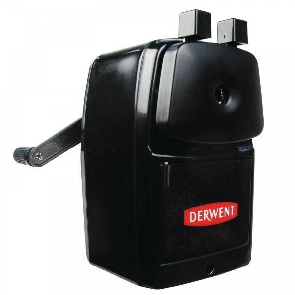 Купить Точилка для карандашей механическая Derwent Super Point с ручкой металлическая