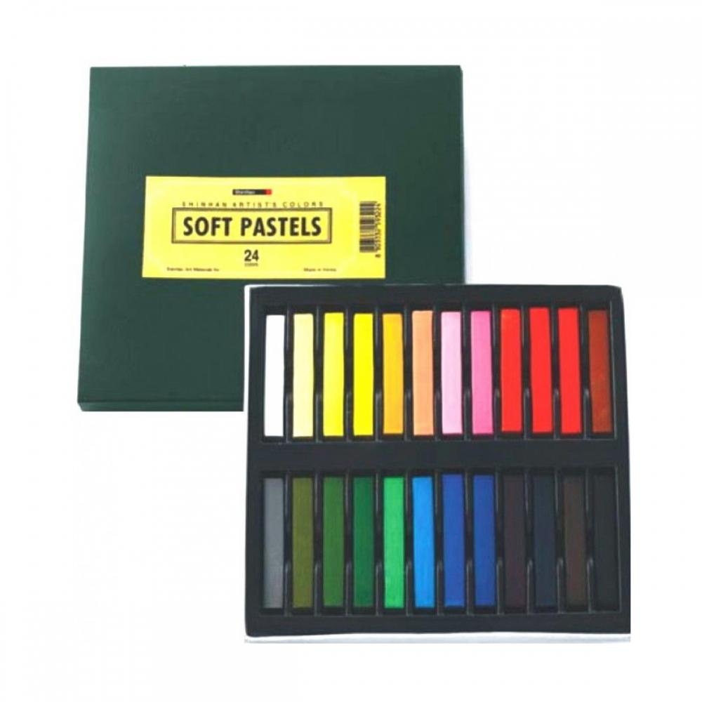 Купить Набор сухой пастели ShinHanart Soft Pastel 24 цв, в картонной упаковке, ShinHan Art International Inc., Южная Корея