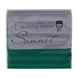 Купить Пластика для запекания Sonnet 56 г Морской зеленый, Сонет, Россия