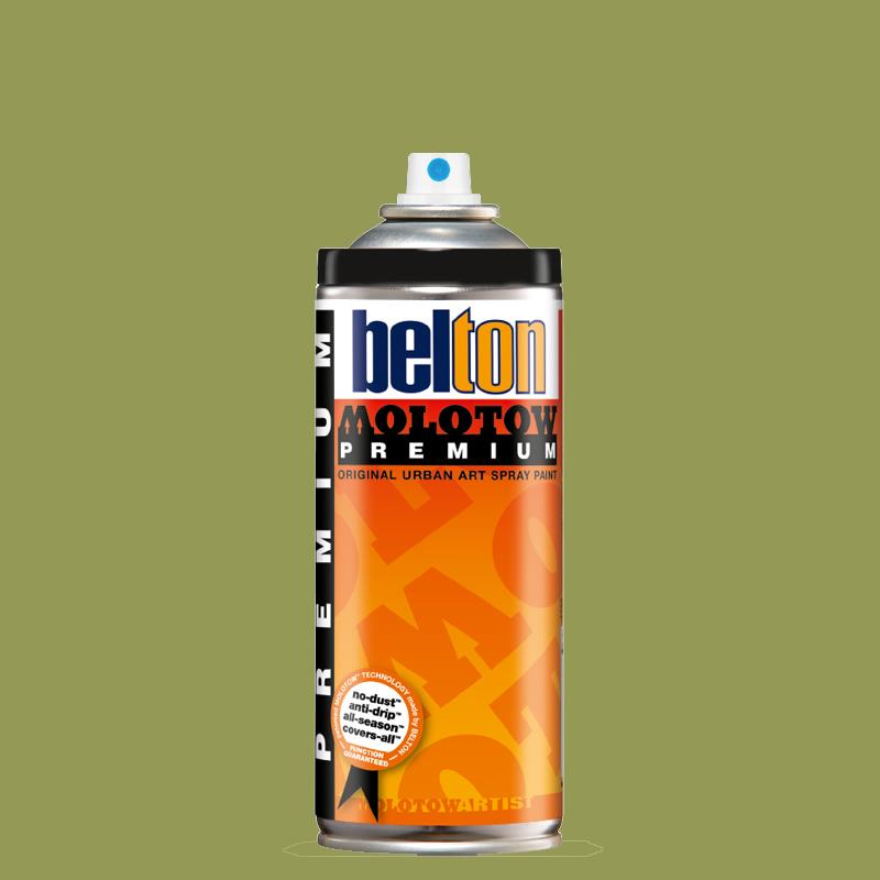Купить Аэрозольная краска Molotow Premium belton 400 мл #170 P.JAY green, Германия