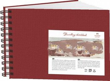 Купить Блокнот для эскизов Лилия Холдинг Travelling sketchbook А4 80 л 130 г Ландшафт гранат, Россия