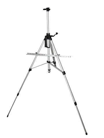 Купить Мольберт Тренога алюминиевый с чехлом, холст до 82 см, регулируемая высота до 168 см, Китай