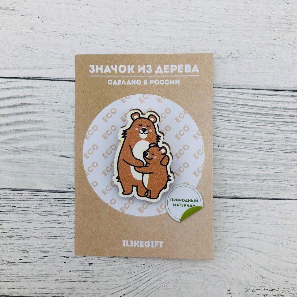 Купить Значок Bears , iLikeGift, Китай