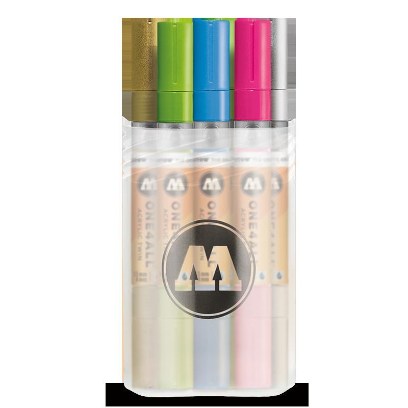 Купить Набор маркеров Molotow ONE4ALL Acrylic Twin Main-Kit 2 , 12 шт, Германия