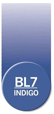 Купить Чернила Chameleon BL7 Индиго 25 мл, Chameleon Art Products Ltd., Великобритания