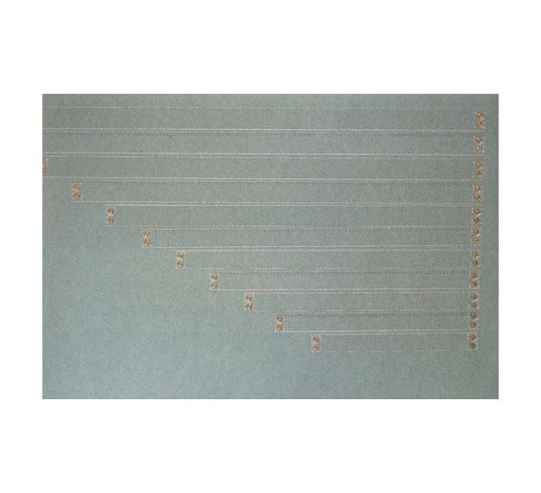 Рейсшина пластиковая прозрачная с канавкой 100 см Domingo Ferrer, Испания  - купить со скидкой