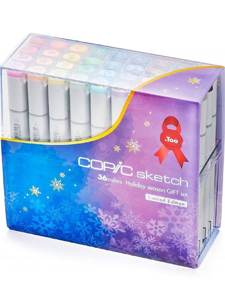 Купить Набор маркеров Copic Sketch Winter Gift 36 цв, Copic Too (Izumiya Co Inc), Япония