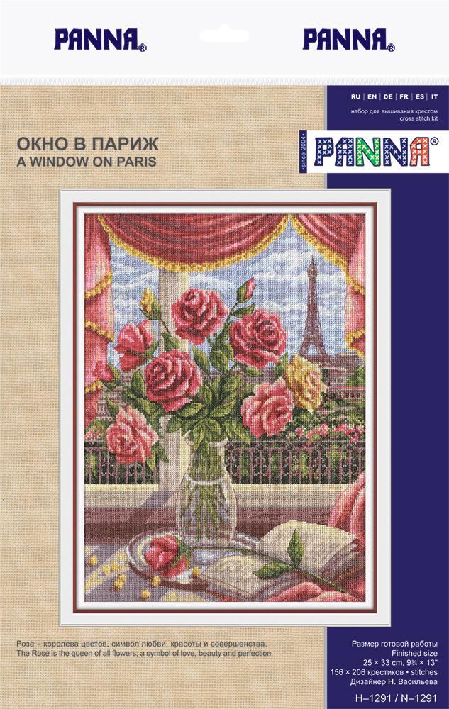 """Набор для вышивания PANNA """"Окно в Париж"""""""