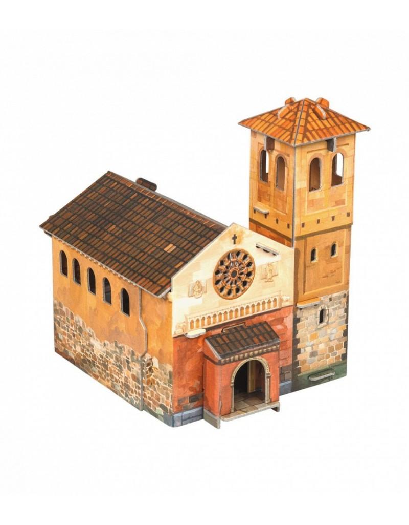 Купить Игровой набор из картона Средневековый город Капелла , Умная бумага, Россия