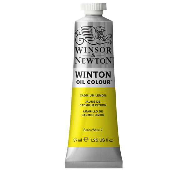 Купить Масло Winsor&Newton WINTON 37 мл лимонный кадмий, Winsor & Newton