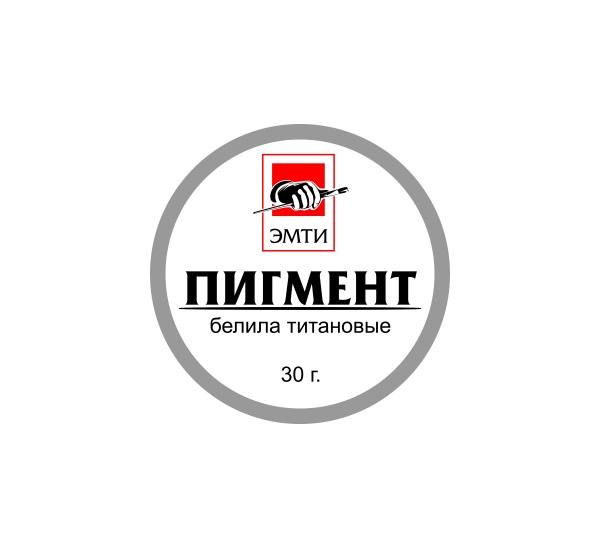 Купить Пигмент Эмти Белила титановые 30 г, Россия