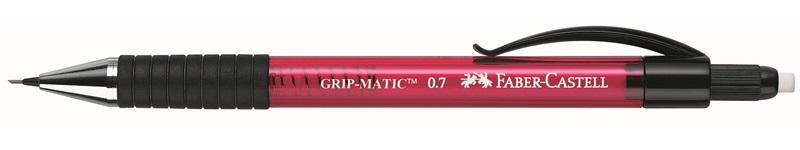 Купить Карандаш механический Faber-Castell GRIP MATIC 1375 0, 7 мм, красный корпус, Faber–Сastell, Германия
