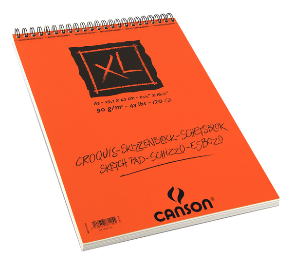 Альбом для графики на спирали Canson