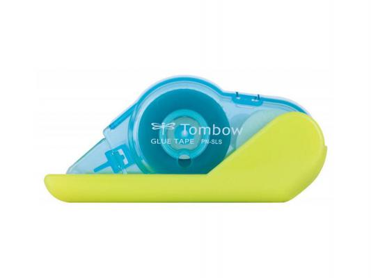 Купить Клеящий роллер Tombow Glue Tape 8, 4 мм*8 м, перманентный, корпус желто-лимонный, Япония